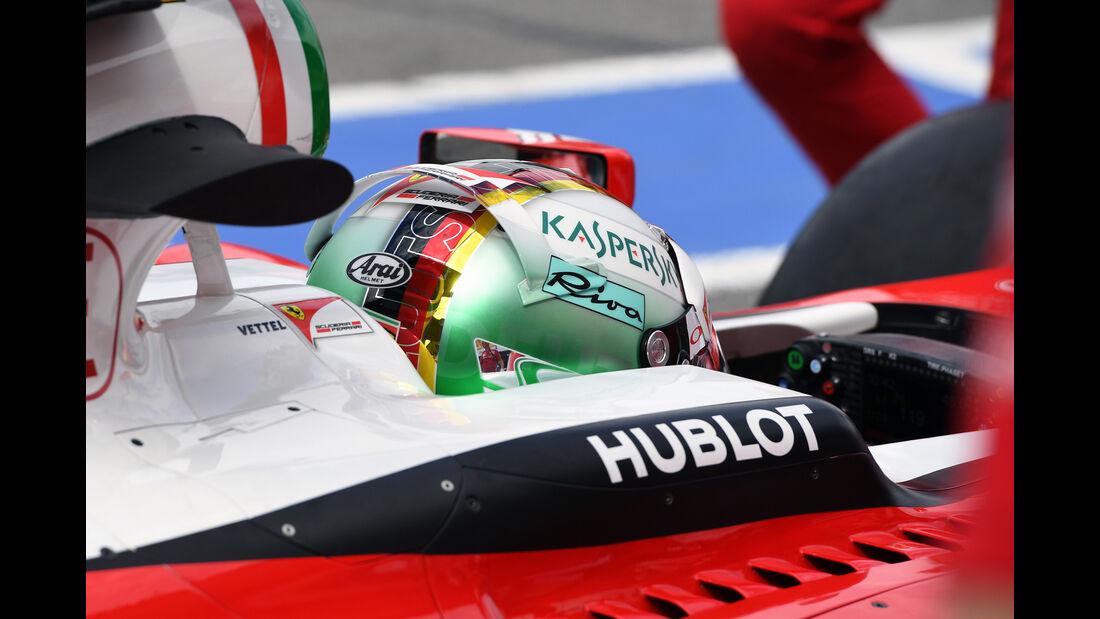 Sebastian Vettel - Ferrari - GP Deutschland - Formel 1 - 29. Juli 2016