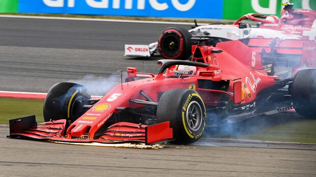 Sebastian Vettel - Ferrari - GP Eifel 2020 - Nürburgring