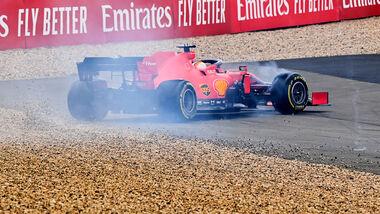 Sebastian Vettel - Ferrari - GP Eifel - Nürburgring - 2020