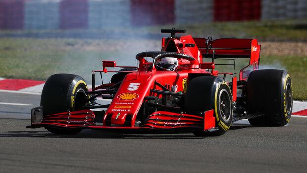 Sebastian Vettel - Ferrari - GP Eifel - Nürburgring - Samstag - 10.10.2020