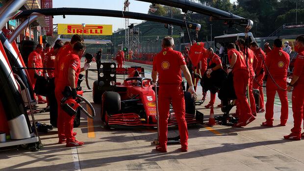 Sebastian Vettel - Ferrari - GP Emilia-Romagna 2020 - Imola