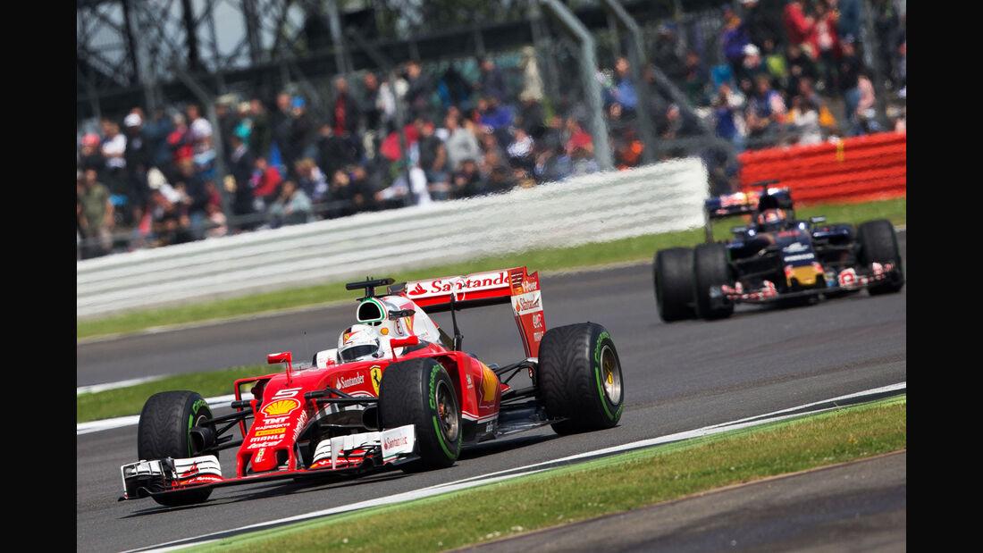 Sebastian Vettel - Ferrari - GP England 2016 - Silverstone