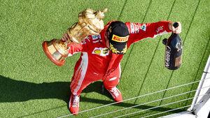 Sebastian Vettel - Ferrari - GP England 2018 - Silverstone