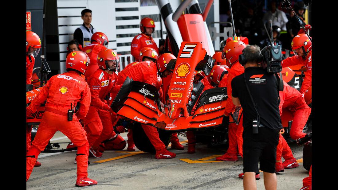 Sebastian Vettel - Ferrari - GP England 2019 - Silverstone - Rennen