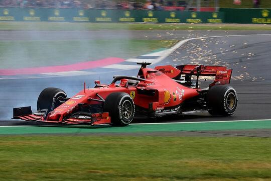 Sebastian Vettel - Ferrari - GP England 2019 - Silverstone