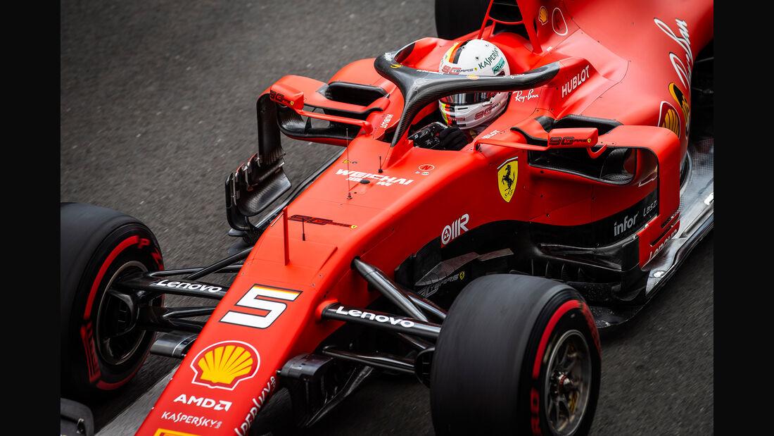 Sebastian Vettel - Ferrari - GP England 2019