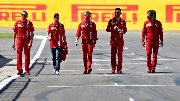 Sebastian Vettel - Ferrari - GP England  - Silverstone - 30. Juli 2020