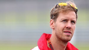 Sebastian Vettel - Ferrari - GP England - Silverstone - Donnerstag - 2.7.2015