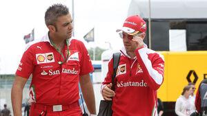 Sebastian Vettel - Ferrari - GP England - Silverstone - Formel 1 - Donnerstag - 7.7.2016