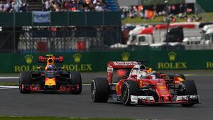 Sebastian Vettel - Ferrari - GP England - Silverstone - Formel 1 - Freitag - 8.7.2016