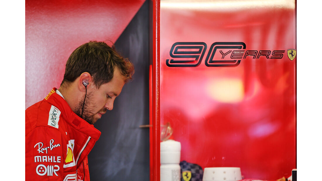 Sebastian Vettel - Ferrari - GP England - Silverstone - Freitag - 12.7.2019