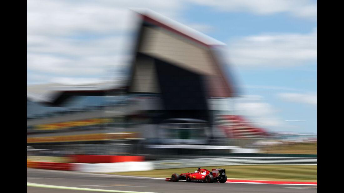 Sebastian Vettel - Ferrari - GP England - Silverstone - Qualifying - Samstag - 4.7.2015