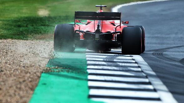 Sebastian Vettel - Ferrari - GP England - Silverstone - Samstag - 13.7.2019