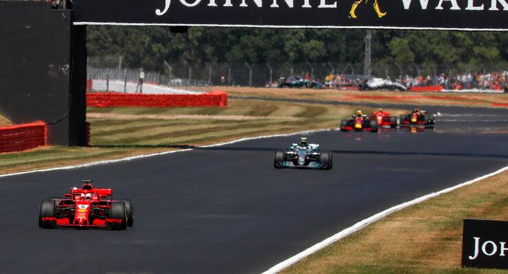 Sebastian Vettel - Ferrari - GP England