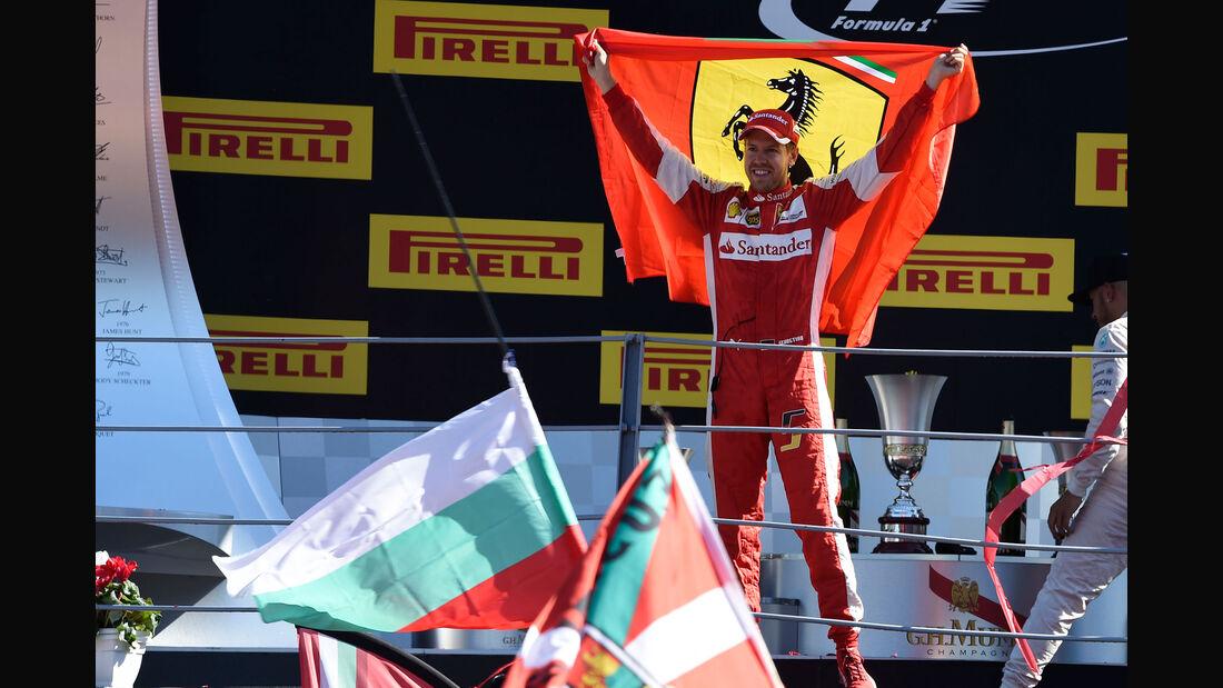 Sebastian Vettel - Ferrari - GP Italien 2015 - Monza