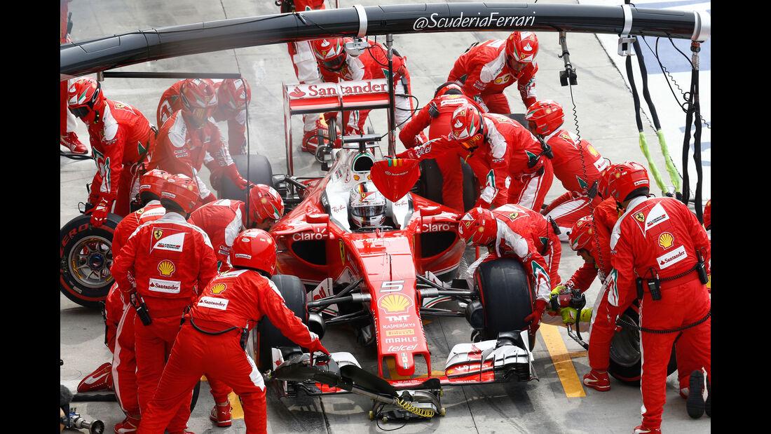 Sebastian Vettel - Ferrari - GP Italien 2016