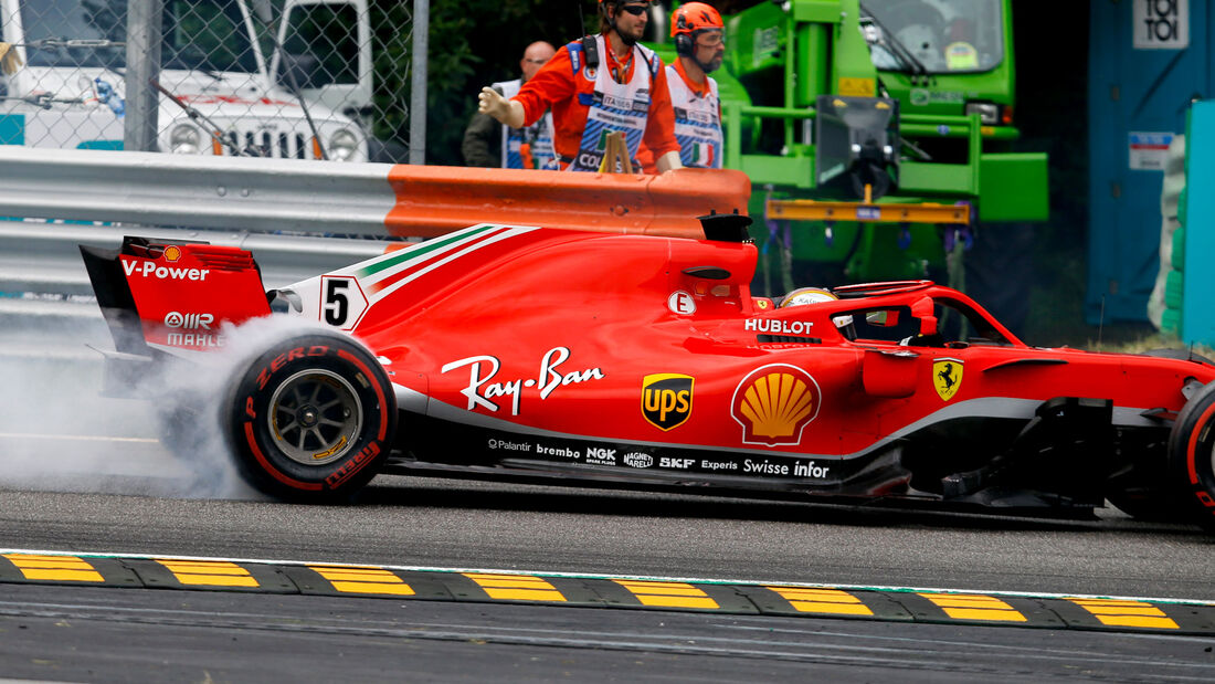 Sebastian Vettel - Ferrari - GP Italien 2018 - Monza