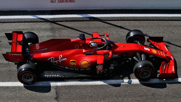 Sebastian Vettel - Ferrari - GP Italien 2020 - Monza
