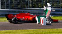 Sebastian Vettel - Ferrari - GP Italien 2020 - Monza - Rennen