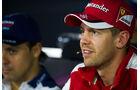 Sebastian Vettel - Ferrari - GP Italien - Monza - Donnerstag - 3.9.2015