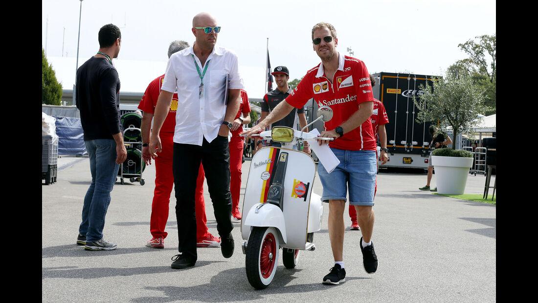 Sebastian Vettel - Ferrari - GP Italien - Monza - Formel 1 - 31. August 2017