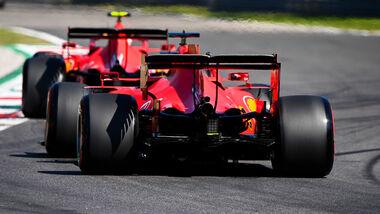 Sebastian Vettel - Ferrari - GP Italien - Monza - Samstag - 5. September 2020