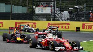 Sebastian Vettel - Ferrari - GP Japan 2016 - Suzuka