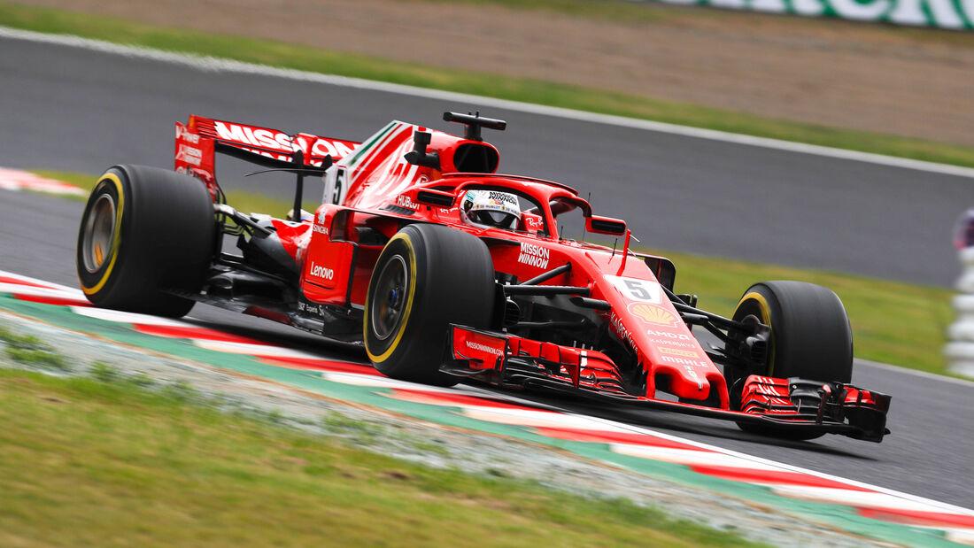 Sebastian Vettel - Ferrari - GP Japan 2018 - Suzuka