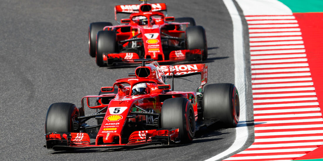 Sebastian Vettel - Ferrari - GP Japan 2018 - Suzuka - Rennen