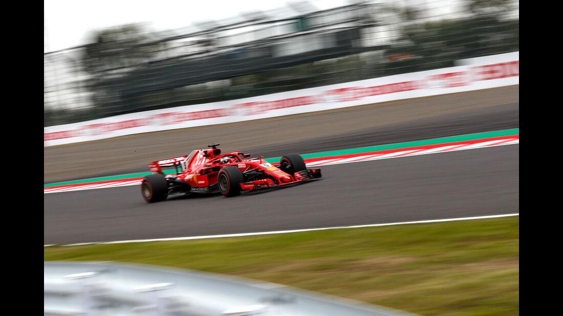 Sebastian Vettel - Ferrari - GP Japan - Suzuka - Formel 1 - Freitag - 5.10.2018