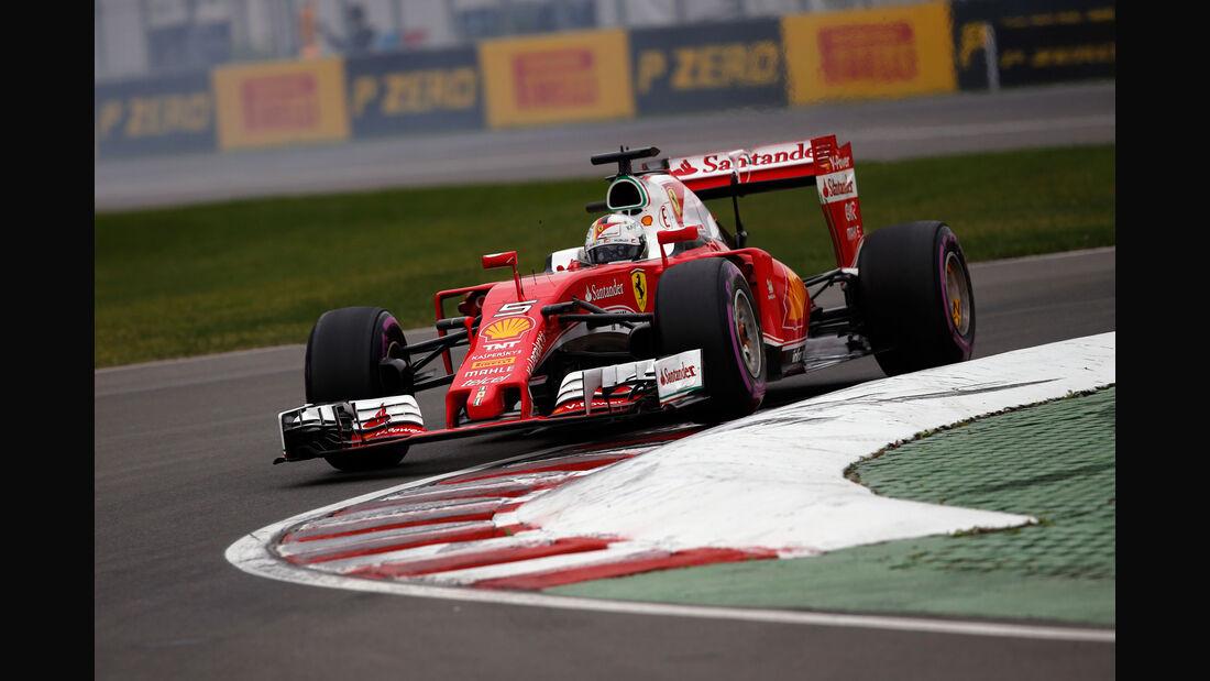 Sebastian Vettel - Ferrari - GP Kanada 2016 - Montreal - Samstag