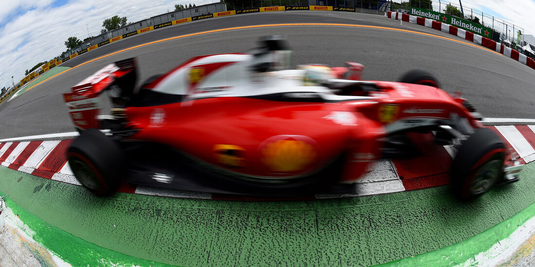 Sebastian Vettel - Ferrari - GP Kanada - Montreal - Freitag - 10.6.2016