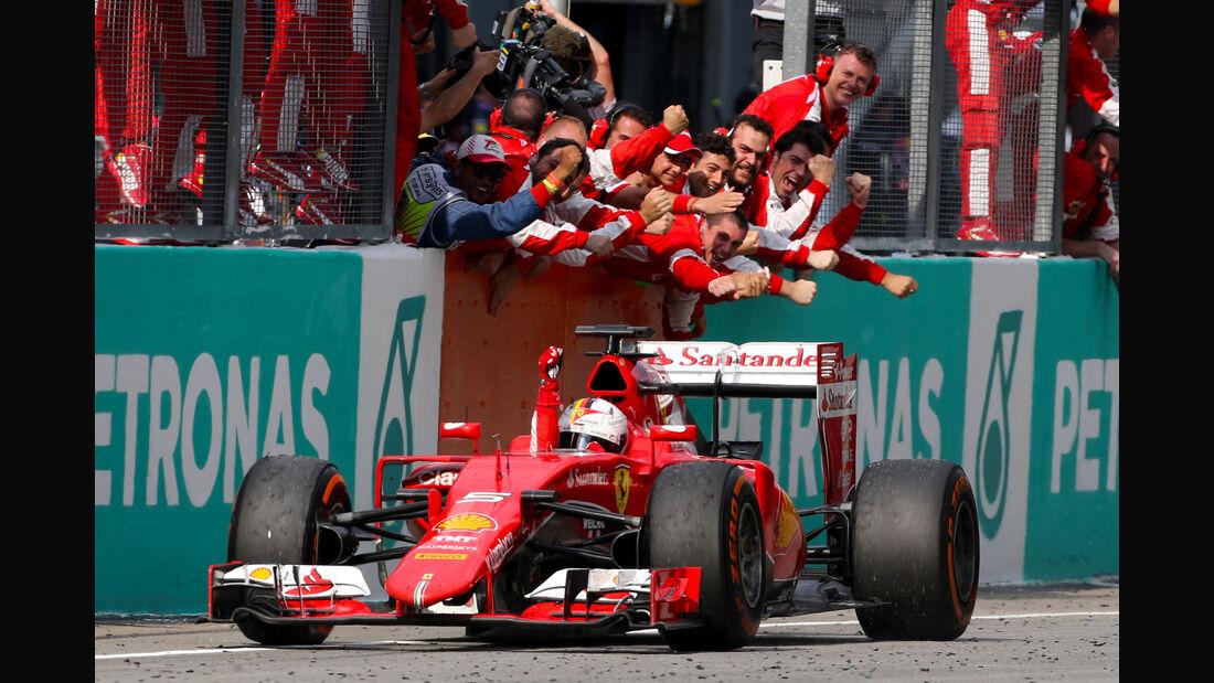 Sebastian Vettel - Ferrari - GP Malaysia 2015