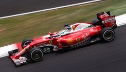 Ferrari nur in der dritten Reihe