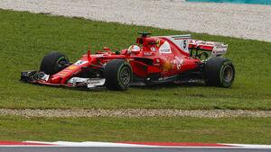 Sebastian Vettel - Ferrari - GP Malaysia - Sepang - 29. Oktober 2017