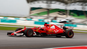 Sebastian Vettel - Ferrari - GP Malaysia - Sepang - Training - Freitag - 29.9.2017