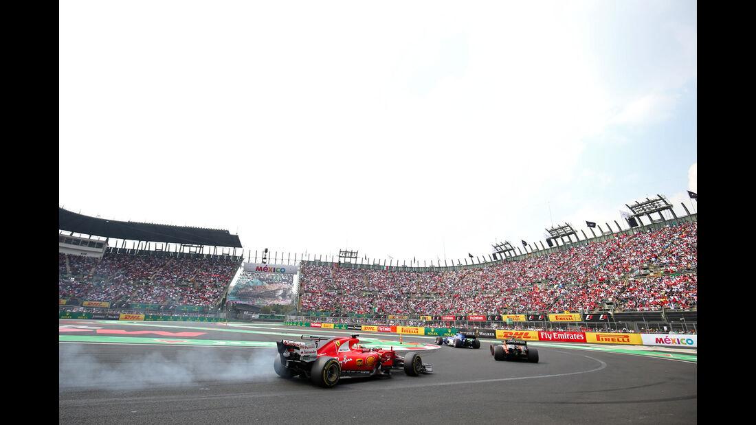 Sebastian Vettel - Ferrari - GP Mexiko 2017 - Rennen