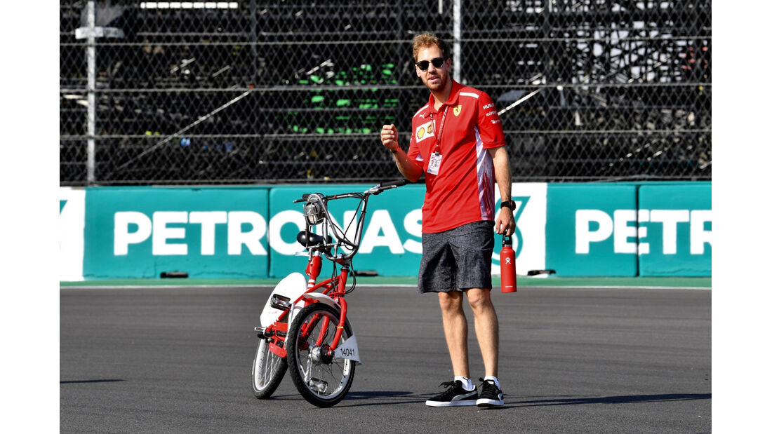 Sebastian Vettel - Ferrari - GP Mexiko 2018