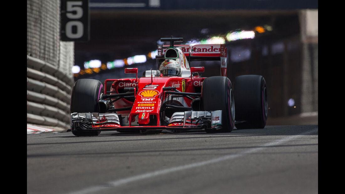 Sebastian Vettel - Ferrari - GP Monaco 2016
