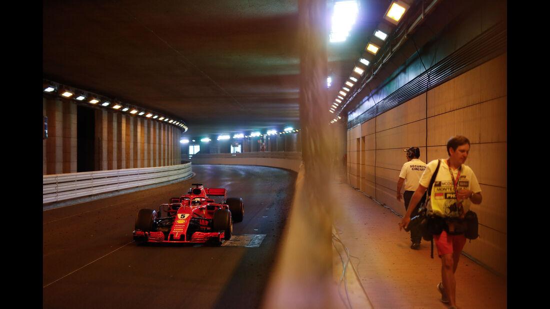 Sebastian Vettel - Ferrari - GP Monaco 2018 - Rennen