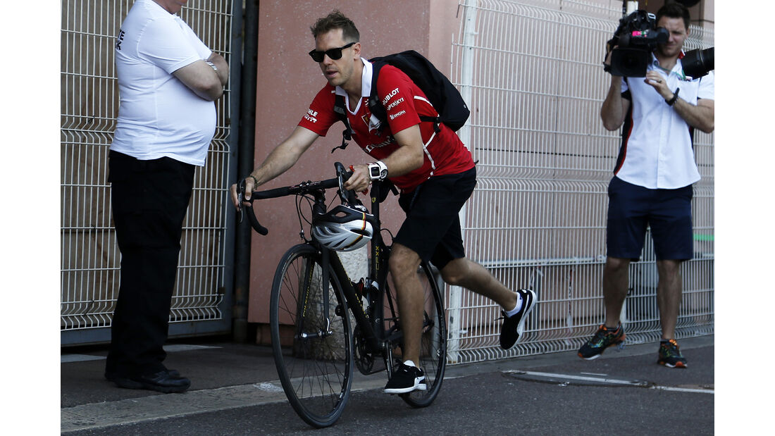 Sebastian Vettel - Ferrari - GP Monaco - Formel 1 - 14. Mai 2017