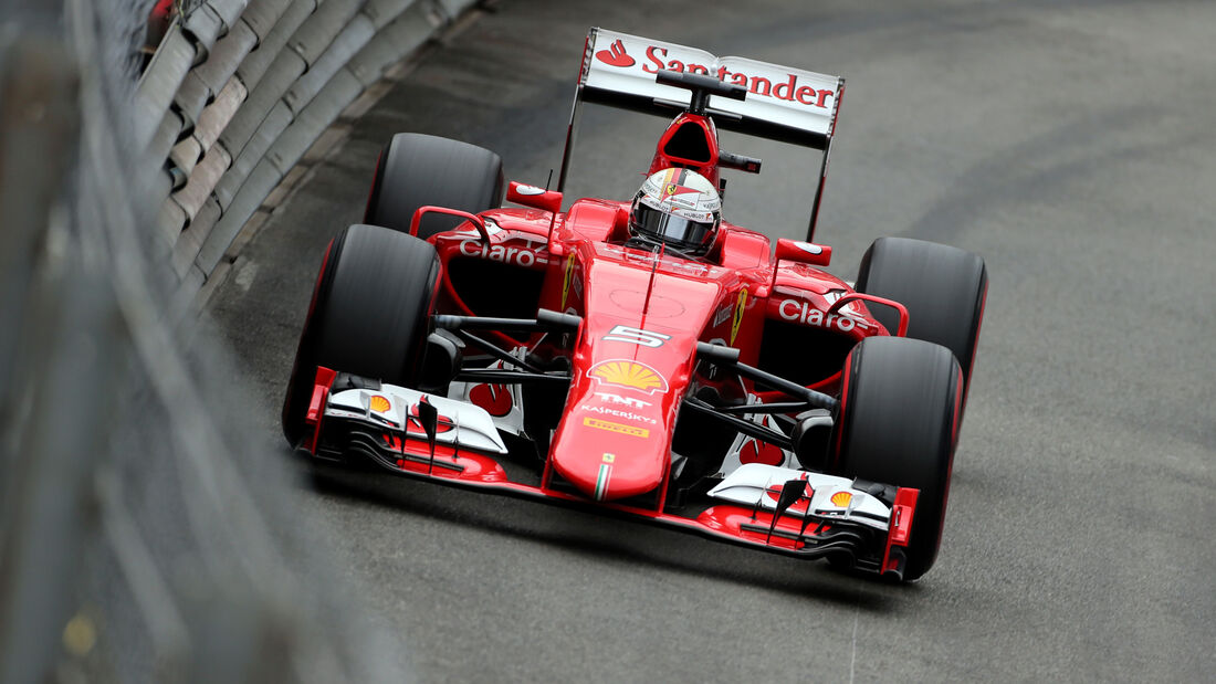 Sebastian Vettel - Ferrari - GP Monaco - Formel 1 - 23. Mai 2015