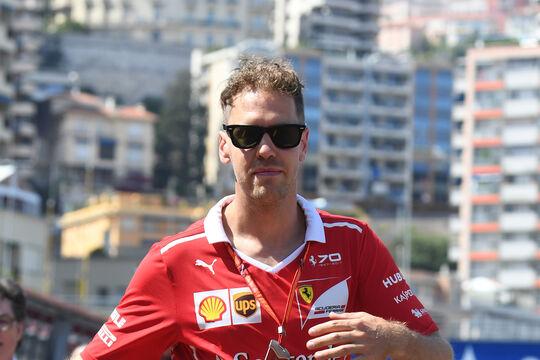 Sebastian Vettel - Ferrari - GP Monaco - Formel 1 - 24. Mai 2017