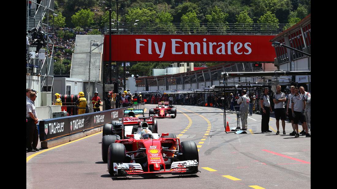 Sebastian Vettel - Ferrari - GP Monaco - Formel 1 - 28. Mai 2016