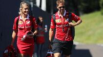 Sebastian Vettel - Ferrari - GP Österreich 2017 - Spielberg - Formel 1 - Donnerstag - 6.7.2017