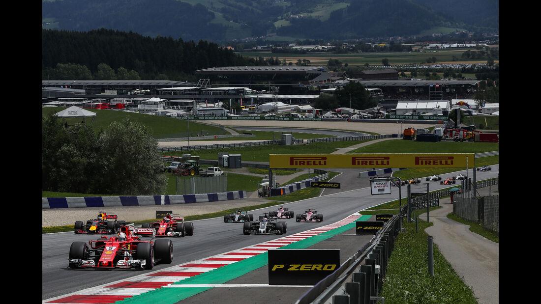 Sebastian Vettel - Ferrari - GP Österreich 2017 - Spielberg - Rennen