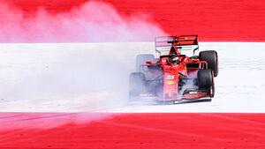 Sebastian Vettel - Ferrari - GP Österreich 2019
