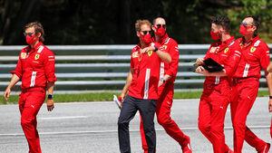 Sebastian Vettel - Ferrari - GP Österreich 2020 - Spielberg