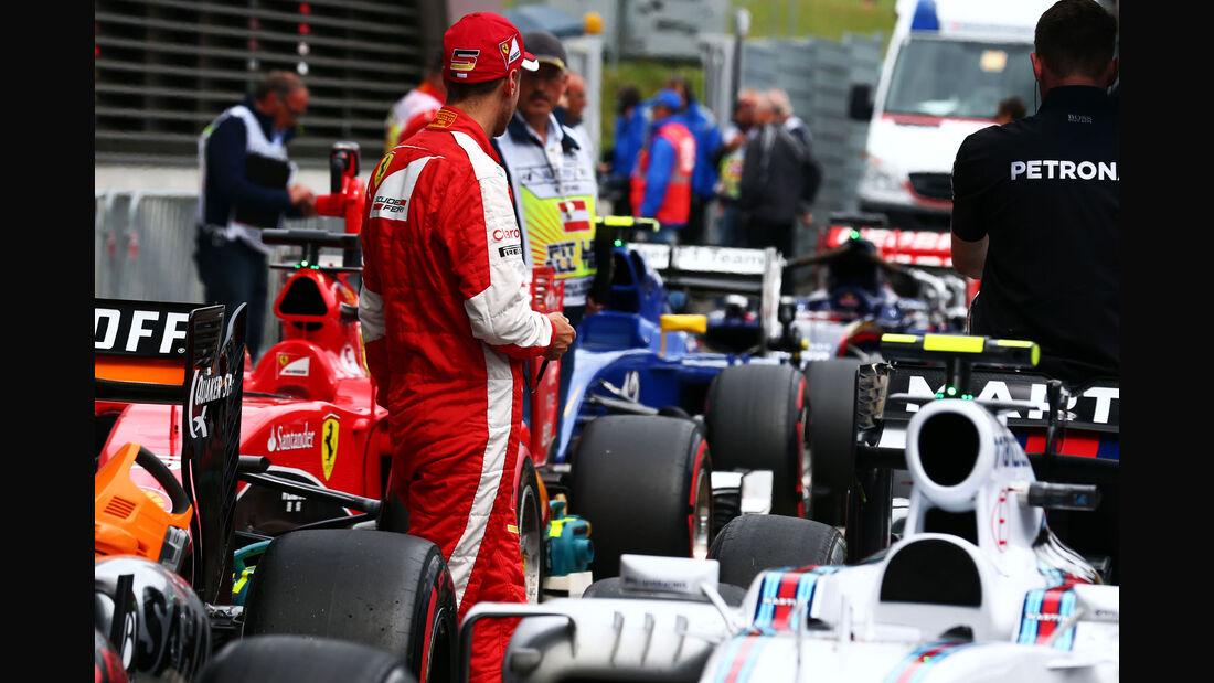 Sebastian Vettel - Ferrari - GP Österreich - Qualifiying - Formel 1 - Samstag - 20.6.2015