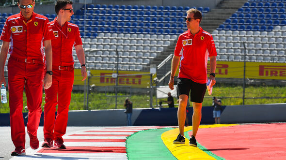 Sebastian Vettel - Ferrari - GP Österreich - Spielberg - Donnerstag - 27. Juni 2019